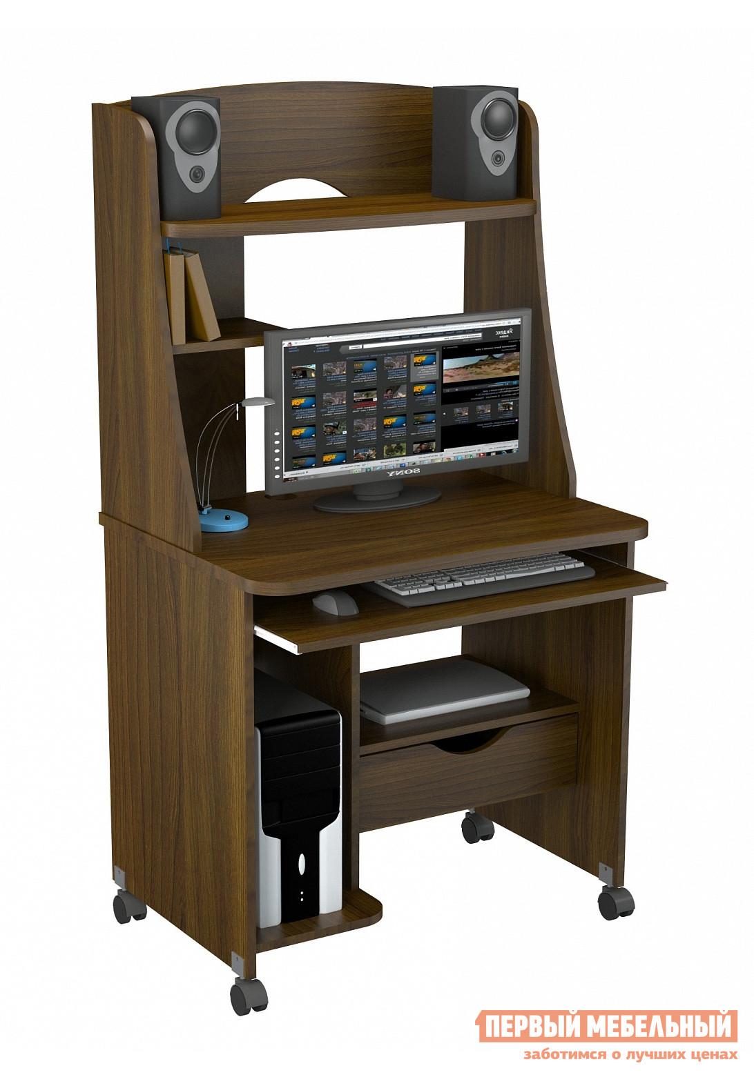 Компьютерный стол ВасКо КС 20-22 м2 Орех Валенсия