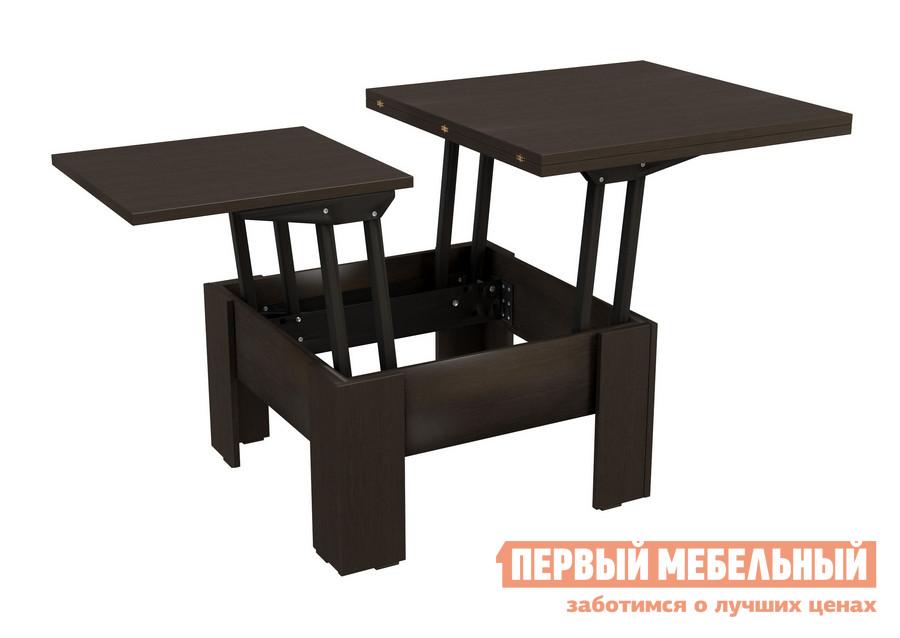 стол обеденный васко ст 8002 слива Журнальный столик-трансформер обеденный раздвижной ВасКо СТ 80-06