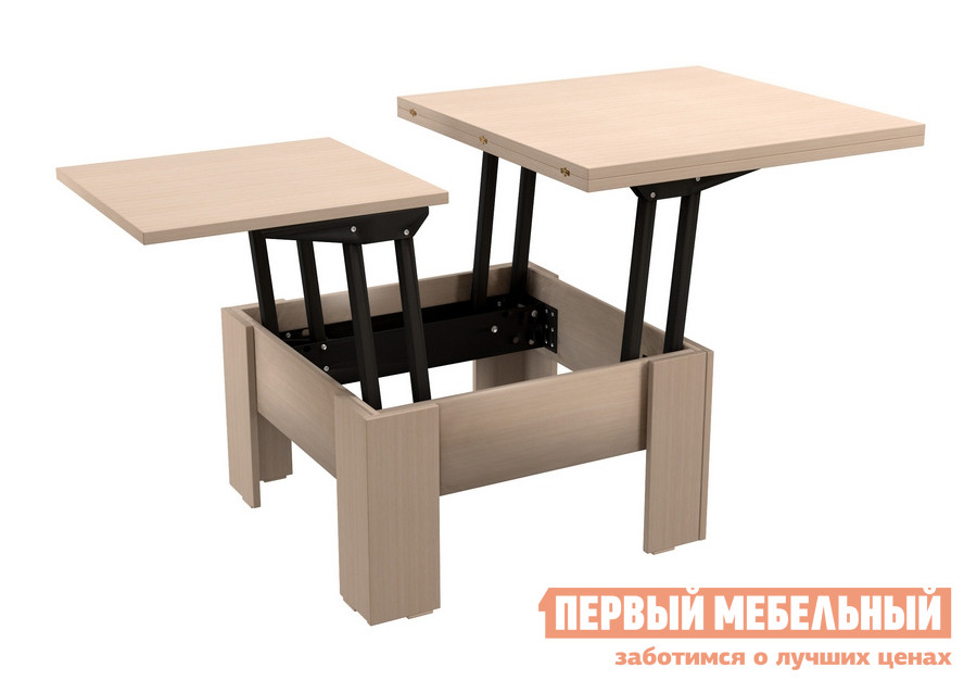 Журнальный столик ВасКо СТ 80-06 Молочный дуб