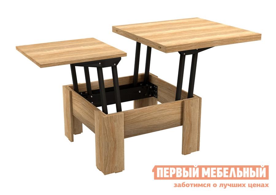 Журнальный столик ВасКо СТ 80-06 Дуб Сонома