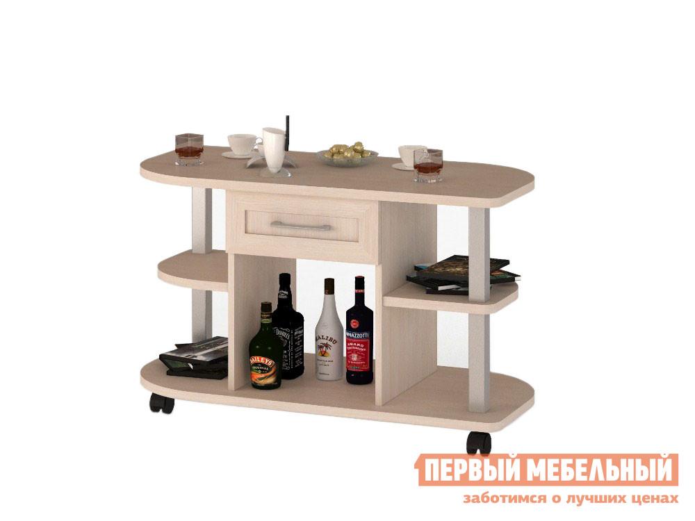 Журнальный столик ВасКо Соло-039 Молочный дуб
