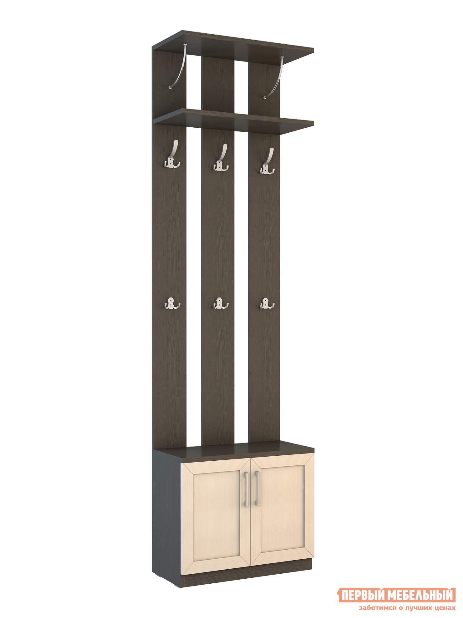 Малогабаритная прихожая для узкого коридора ВасКо СОЛО 060 надстройка васко соло 007 1303 для столов соло 005 соло 021