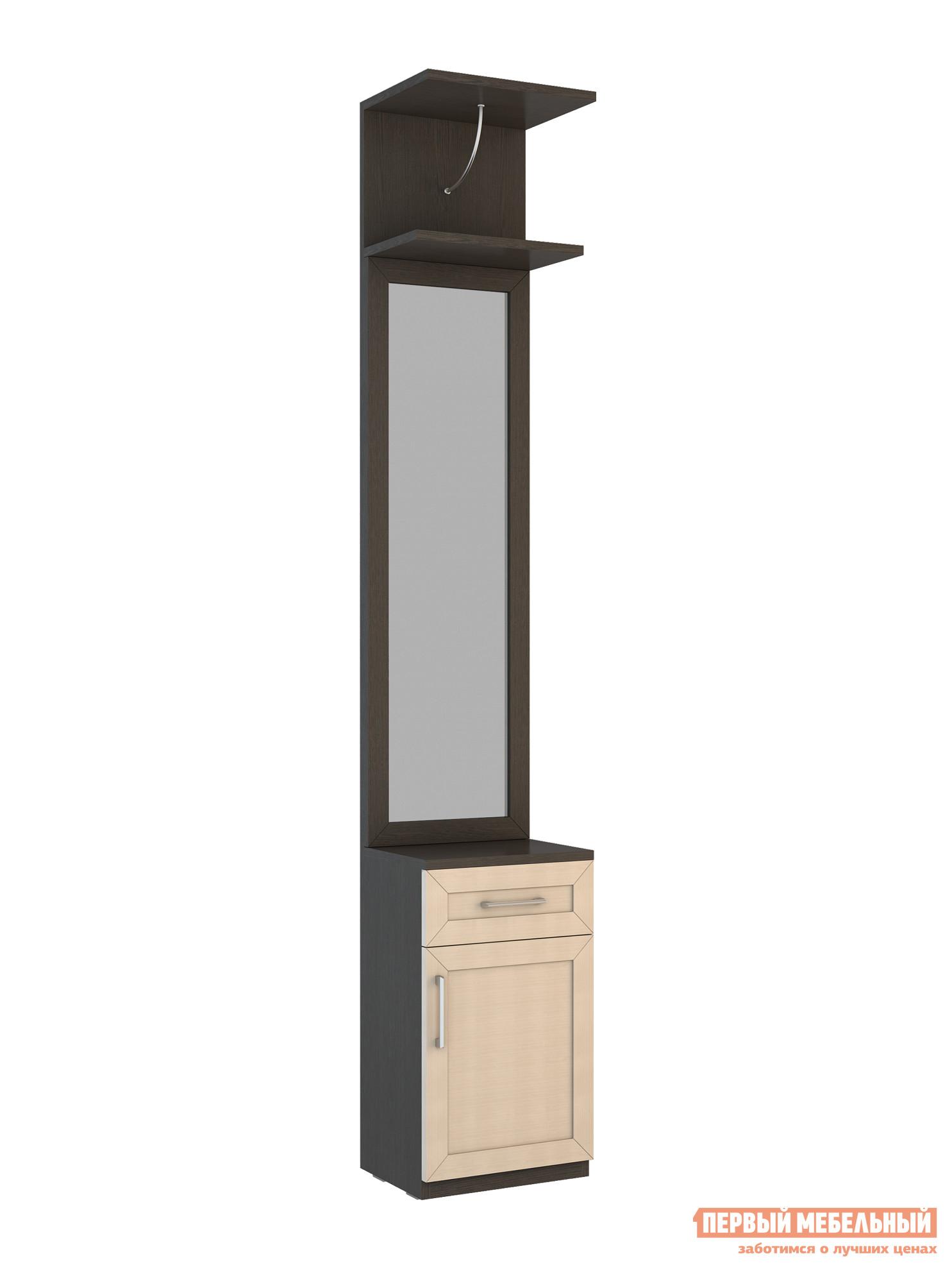 Малогабаритная прихожая для узкого коридора ВасКо СОЛО 059 надстройка васко соло 007 1303 для столов соло 005 соло 021