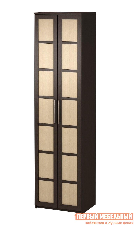 Шкаф распашной ВасКо Соло 027 с фасадами ДСП полки вкладные дополнительные для соло 027 васко соло 051 1000 венге