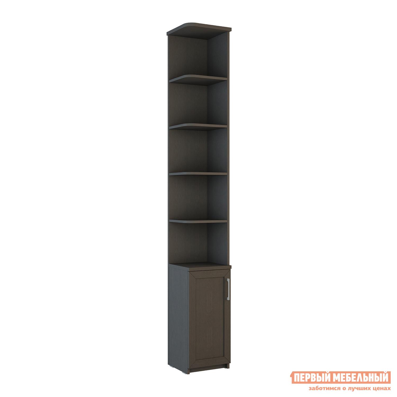 Стеллаж ВасКо СОЛО-062 ВенгеСтеллажи для дома<br>Габаритные размеры ВхШхГ 2306x320x320 мм. Многофункциональный узкий стеллаж, который станет полезным дополнением как в прихожей, так и в гостиной, спальне или детской комнате.  Модель имеет компактные размеры, что позволит разместить ее в небольшом помещении. Стеллаж имеет закрытый шкафчик в основании и ряд открытых полок, на которых удобно будет расставить книги, комнатные растения, нужные под рукой мелочи или предметы интерьера. Обратите внимание! При сборке модуля его необходимо крепить к стене.  Фурнитура для крепления к стене в комплект не входит. Стеллаж универсальный по сборке. Изделие производится из высококачественного ЛДСП.<br><br>Цвет: Венге<br>Цвет: Венге<br>Высота мм: 2306<br>Ширина мм: 320<br>Глубина мм: 320<br>Кол-во упаковок: 2<br>Форма поставки: В разобранном виде<br>Срок гарантии: 24 месяца<br>Тип: Книжные<br>Размер: Узкие