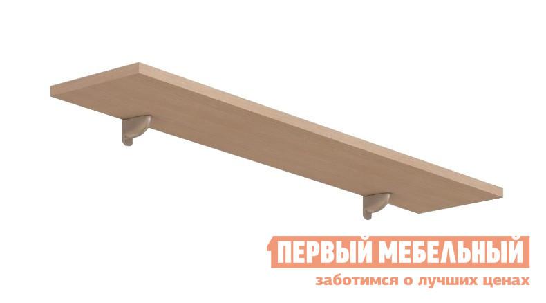 Настенная полка ВасКо 128 Соло 023 Молочный дуб