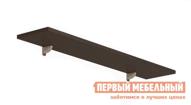 Настенная полка ВасКо 128 Соло 023 Венге