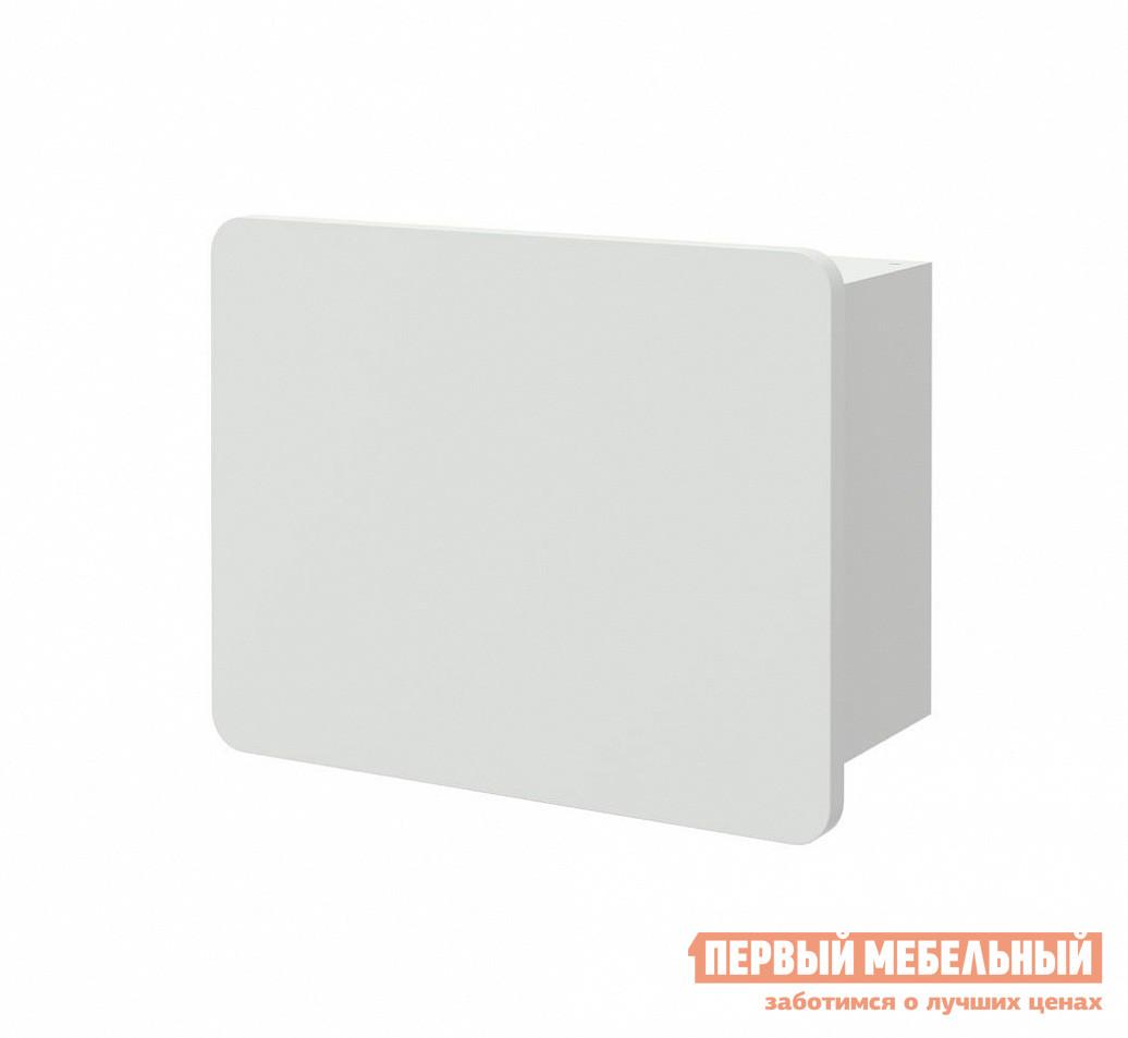 Настенная полка ВасКо Купертино 202+302 Белый глянец