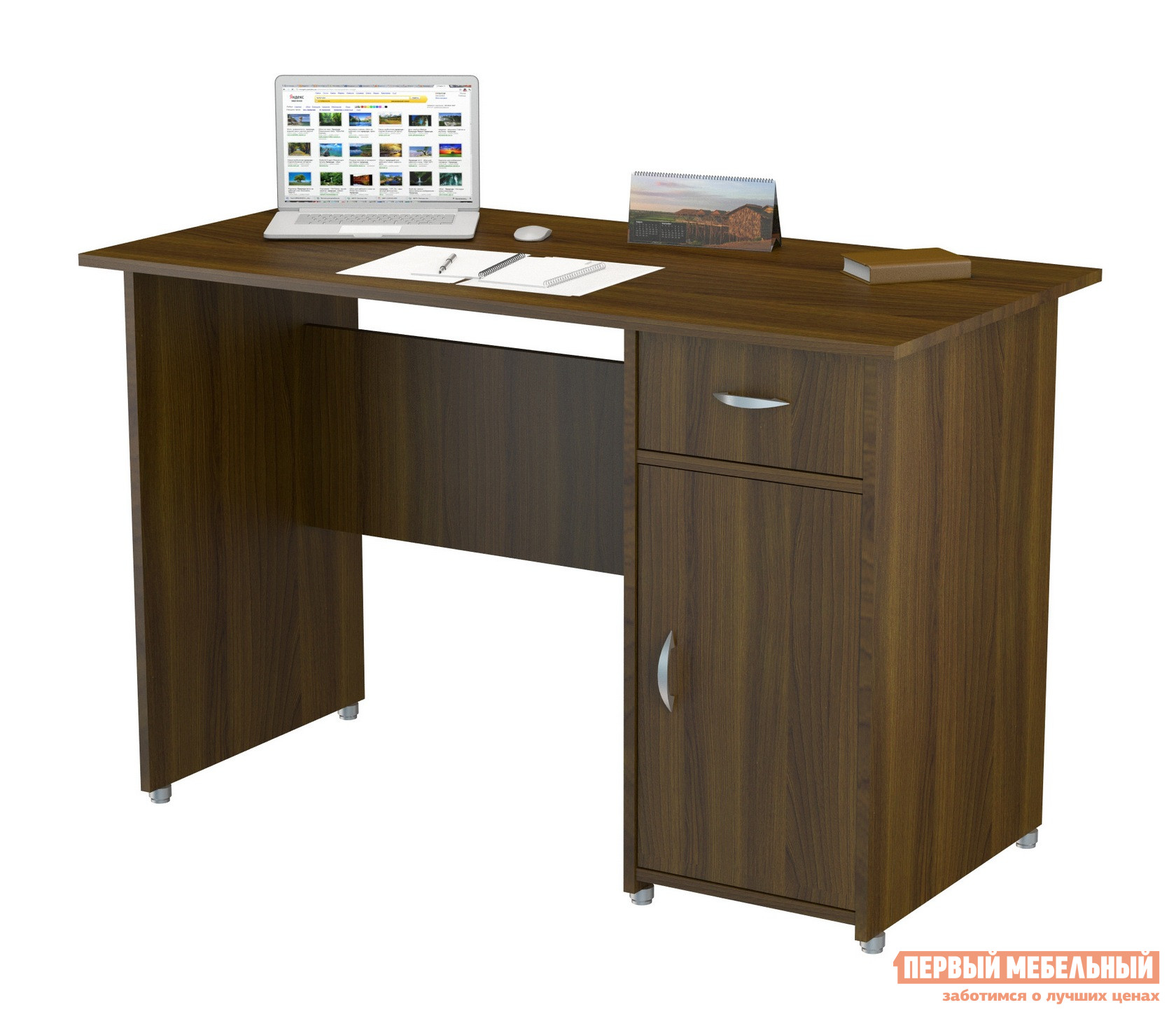 Фото Компьютерный стол ВасКо ПС 40-08 М1 Орех Валенсия. Купить с доставкой
