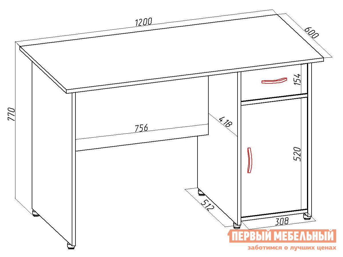Письменный стол, васко пс 40-08 м1 - купить в интернет магаз.