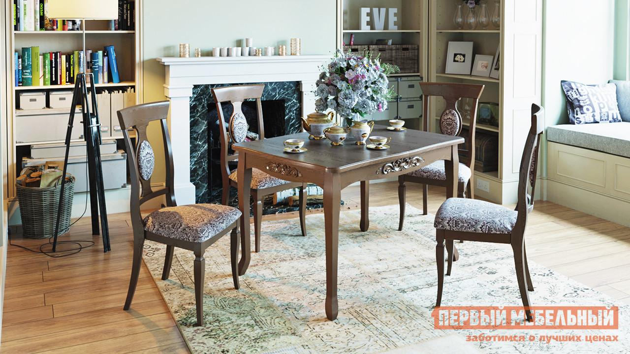 Обеденная группа для столовой и гостиной ТриЯ Бристоль Т1 Стол + Денвер Тип 1 обеденная группа для столовой и гостиной mr kim обеденная группа ra t4ex и 4 стула ra sc