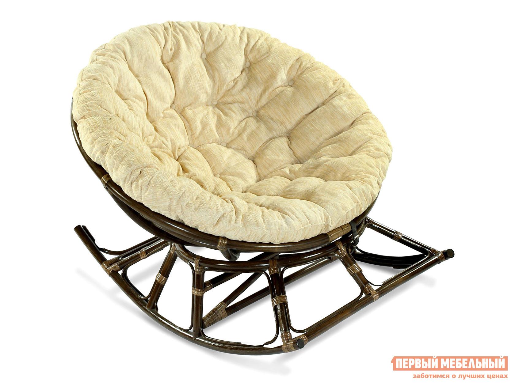 Плетеное кресло  Кресло-качалка PAPASAN 23/03 Браун