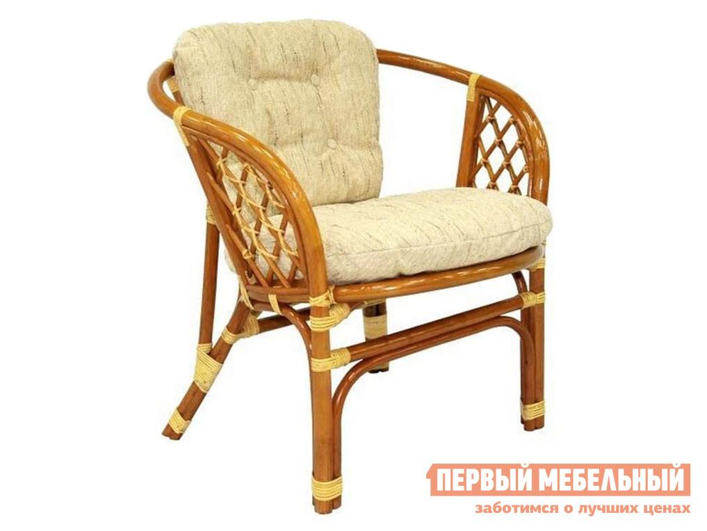 Плетеное кресло  БАГАМА 03/10B Коньяк — БАГАМА 03/10B Коньяк