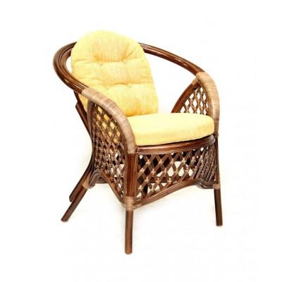 Плетеное кресло ЭкоДизайн 1305В Браун