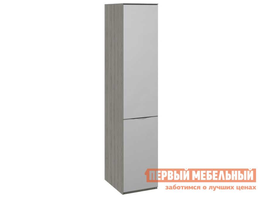 Шкаф распашной  для белья с 1 дверью СМ-297.07 Хадсон, зеркалом ТриЯ 93129