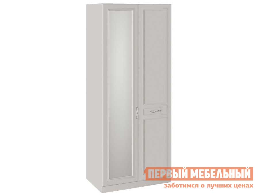 цена на Шкаф распашной ТриЯ Сабрина СМ-307.07.021 Шкаф для одежды с 1 глухой и 1 зеркальной дверью
