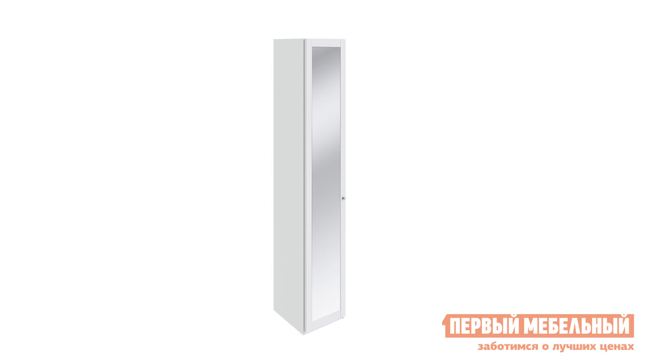 цена на Шкаф распашной ТриЯ Ривьера СМ 241.07.004 Шкаф торцевой с 1-й дверью с зеркалом