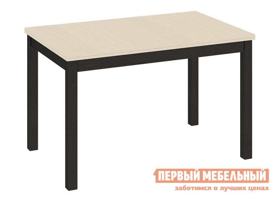 Маленький обеденный стол прямоугольный ТриЯ Диез Т11 С-347 принт цв 7168