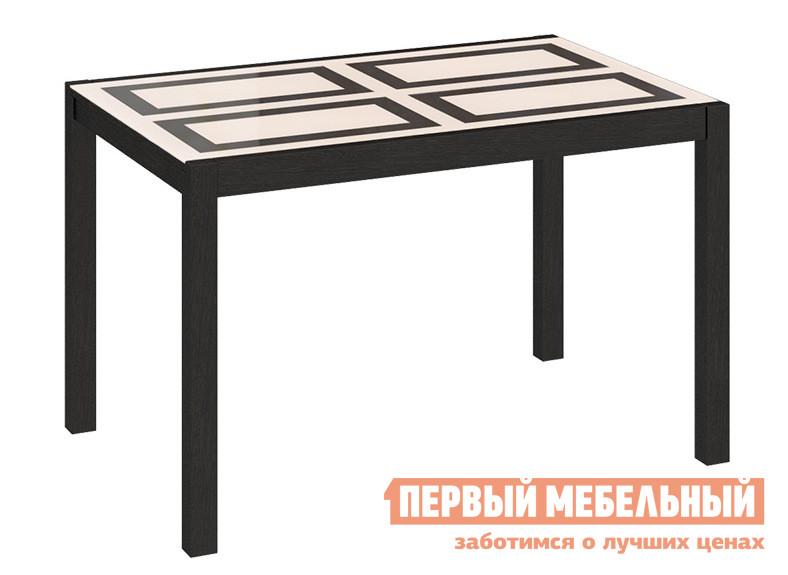 Глянцевый обеденный стол-трансформер ТриЯ Диез Т4 С-345 бештау диез т4 с 295 венге дуб сильвер