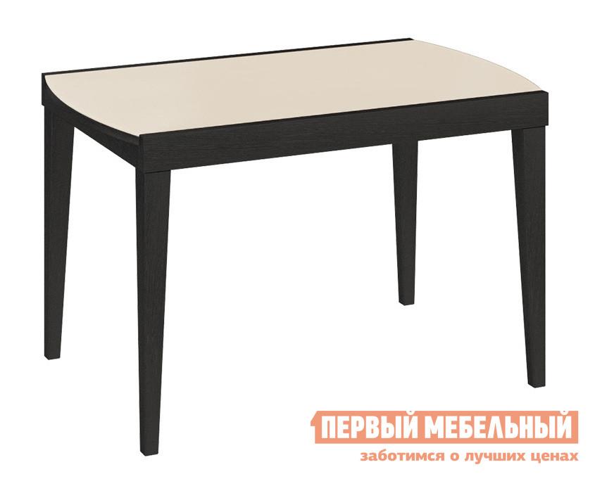 Обеденный стол Бештау Танго Т2 С-362  Венге / Бежевое матовое стекло от Купистол