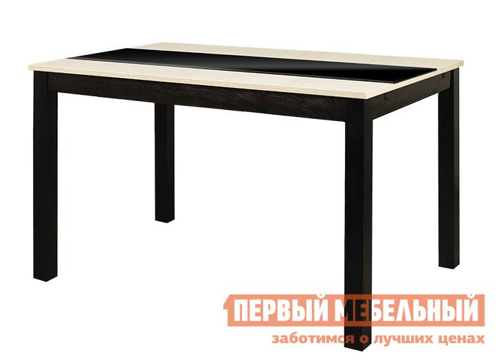 Пластиковый обеденный стол ТриЯ Диез Т7 С-326 стол обеденный мебель трия диез т7 с 326 венге дуб сильвер