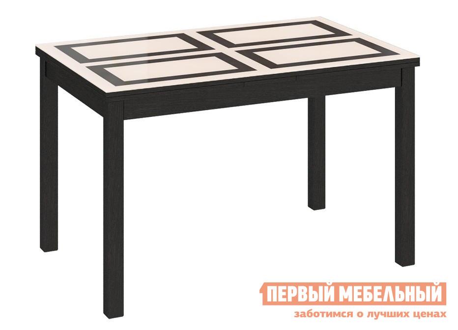 Обеденный стол из массива бука ТриЯ Диез Т11 С-343 стол обеденный мебель трия диез т11 с 347 венге дуб сильвер