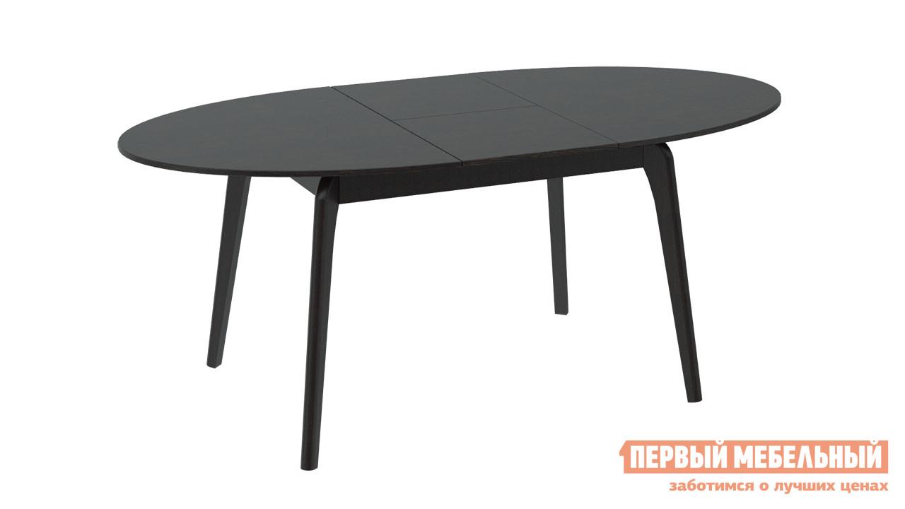 Раздвижной обеденный стол ТриЯ СМ(Б)-102.01.11(1) раздвижной обеденный стол трия см 218 01 15 венге стекло бежевое с рисунком