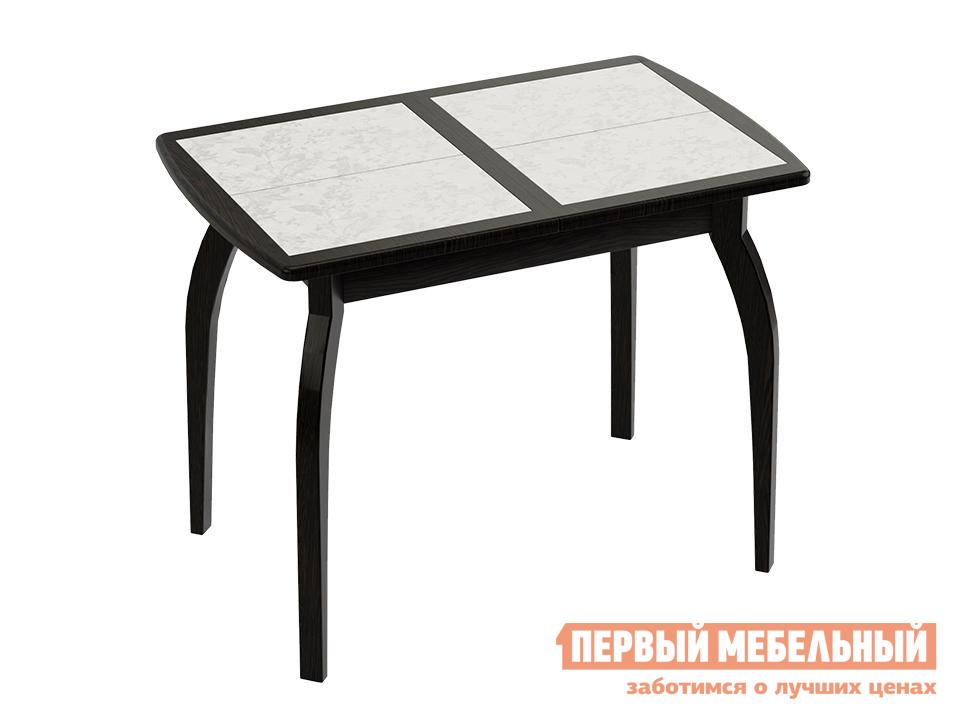 Обеденный стол  Стамбул (мини) Венге / Флориан Белая