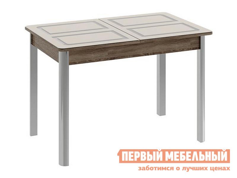 Кухонный стол ТриЯ Стол обеденный на металлических ножках «Палермо»