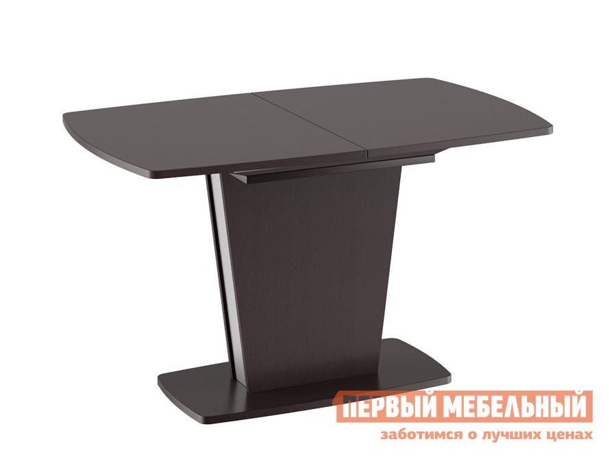 Кухонный стол  Ливерпуль обеденный Дуб Миланский / Металлик, Средний ТриЯ 84449