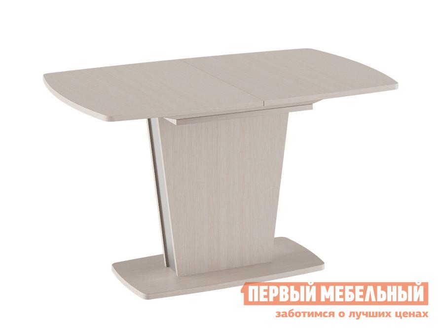 Обеденный стол  Ливерпуль Стол обеденный Дуб Белфорт / Металлик, Средний