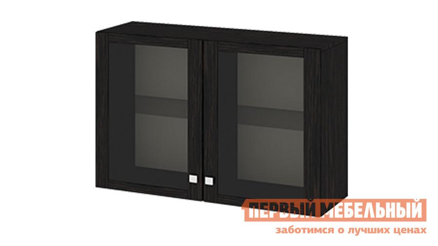 Настенная полка ТриЯ Ам(05)_31(2) Венге Цаво ТриЯ Габаритные размеры ВхШхГ 699x1076x368 мм. Небольшой элегантный настенный шкаф является одним из элементов гостиной серии «Фиджи».  Благодаря ему вы сможете создать в комнате уютную и стильную обстановку, а также разместить много вещей.  Модель подходит для интерьера прихожей, гостиной или офиса.  Она хорошо сочетается с настенной полкой или ТВ-тумбой.  Шкаф разделен на два отдела, каждый из которых закрыт стеклянными дверками. <br>Шкаф изготовлен из качественной ламинированной ДСП, полки и двери выполнены из стекла. <br>
