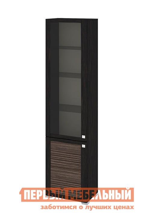 Шкаф-витрина ТриЯ ШК(07)_32-21_18 стеклянные полки шкаф витрина мебель трия фиджи шк 07