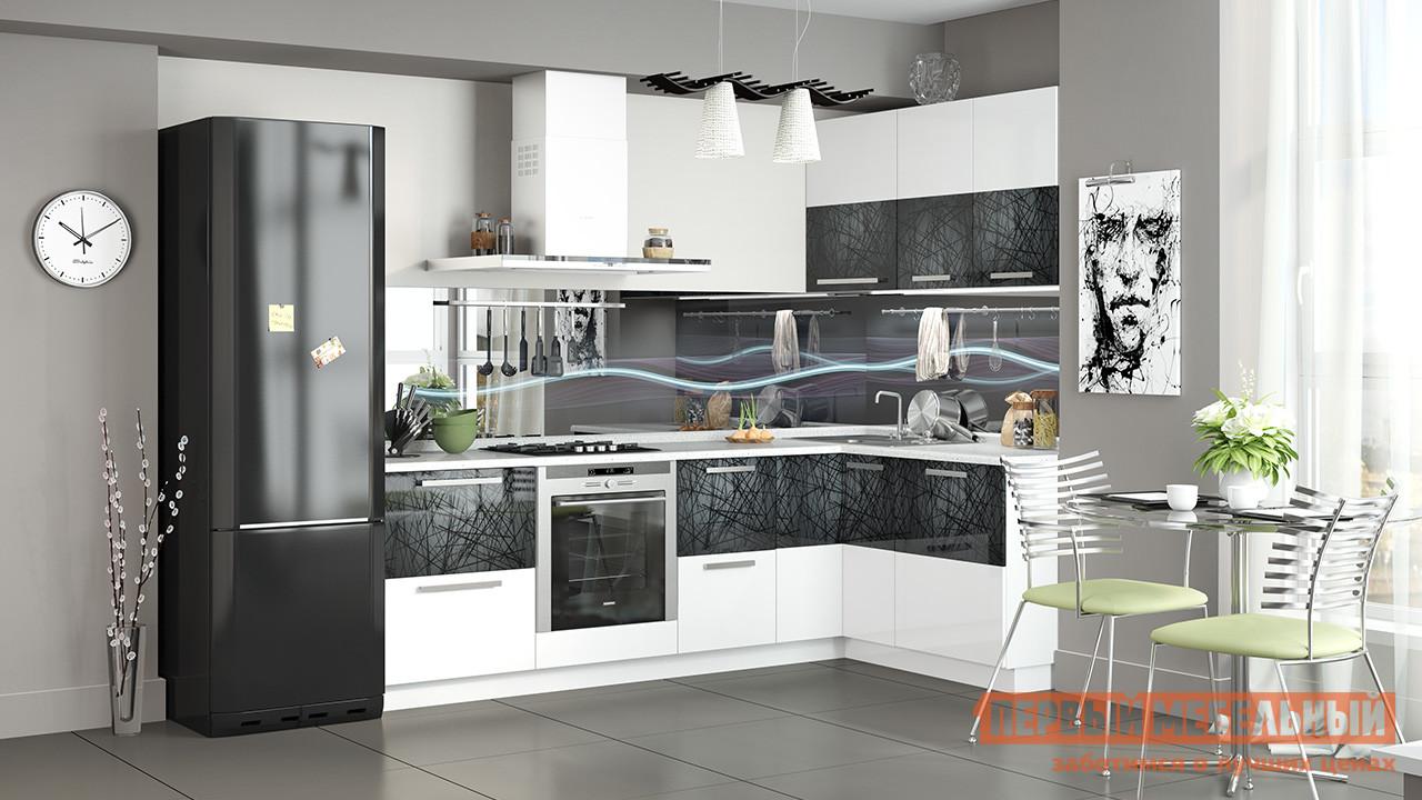 Кухонный гарнитур ТриЯ Фэнтези №6 255 х 150 см кухонный гарнитур трия оливия 300 см
