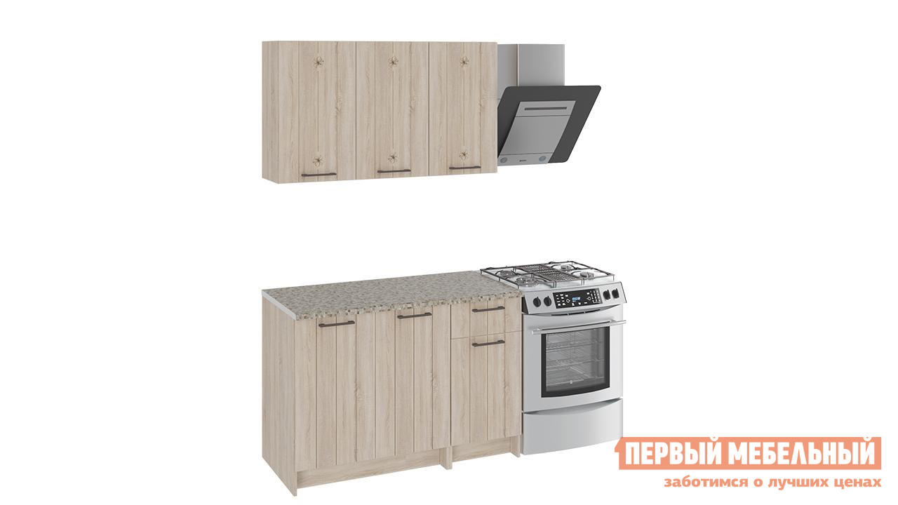 Кухонный гарнитур ТриЯ Эстель 120 см кухонный гарнитур трия фэнтези 6 255 х 150 см