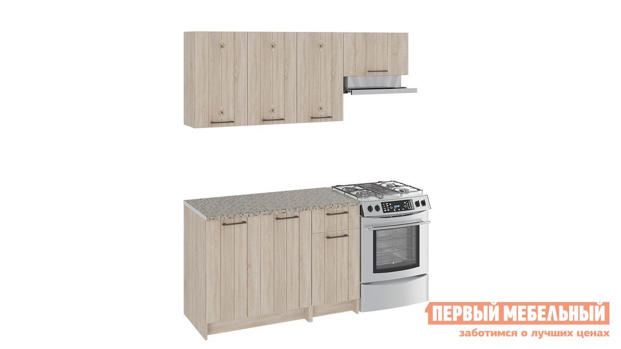 Кухонный гарнитур ТриЯ Эстель 180 см 3 кухонный гарнитур трия фэнтези 6 255 х 150 см