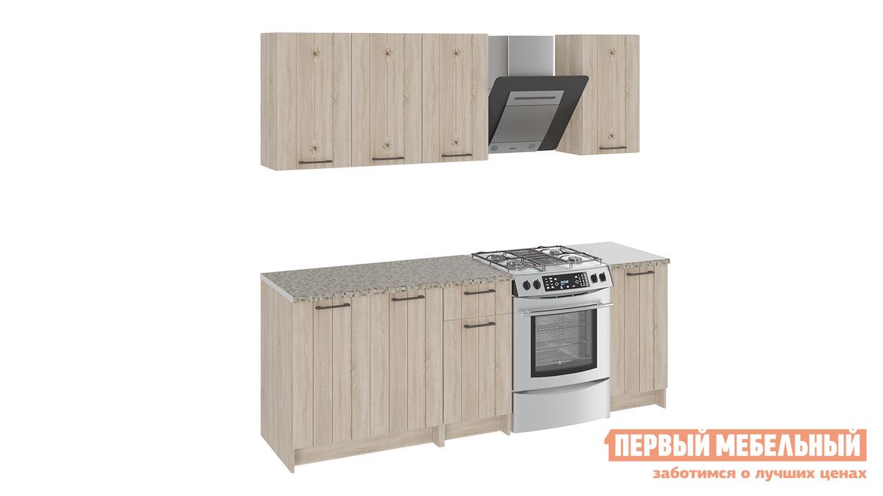 Кухонный гарнитур ТриЯ Эстель 160 см кухонный гарнитур трия фэнтези 6 255 х 150 см
