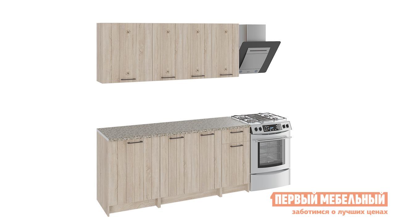 Кухонный гарнитур ТриЯ Эстель 180 см 2 кухонный гарнитур трия фэнтези 6 255 х 150 см