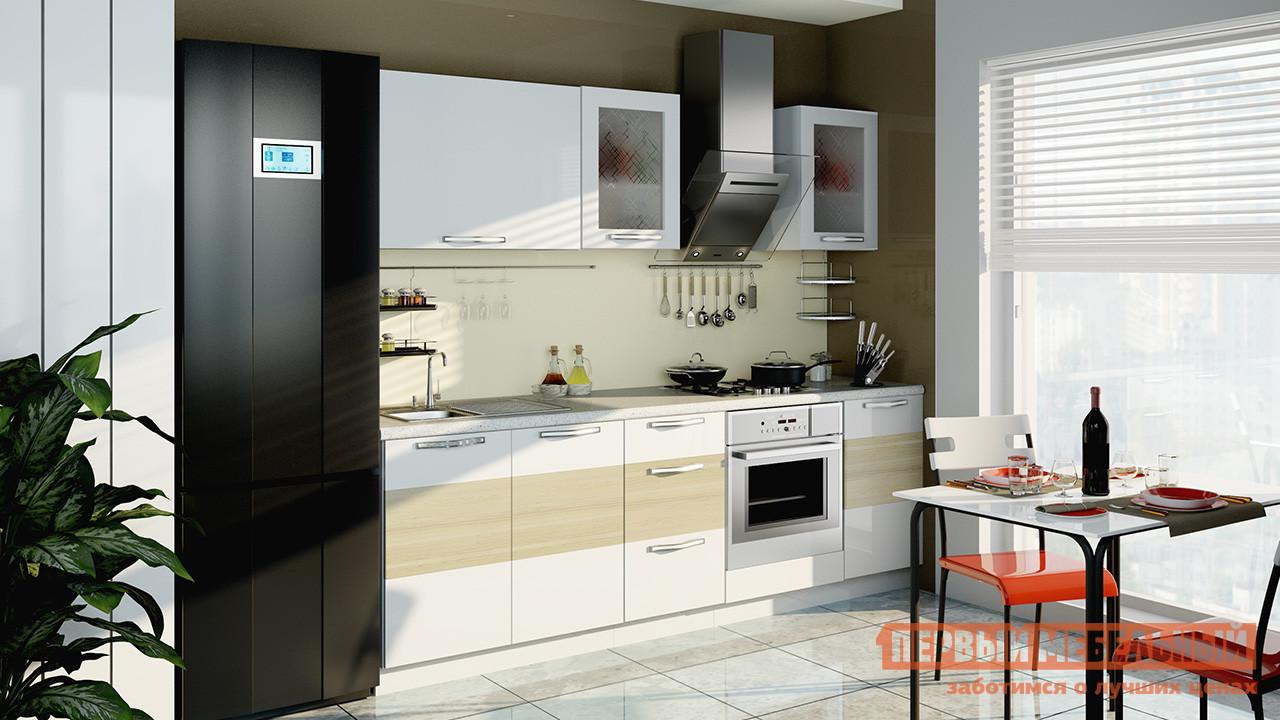 Кухонный гарнитур ТриЯ Оливия 240 см кухонный гарнитур трия ассорти вишня 2 240 х 210 см