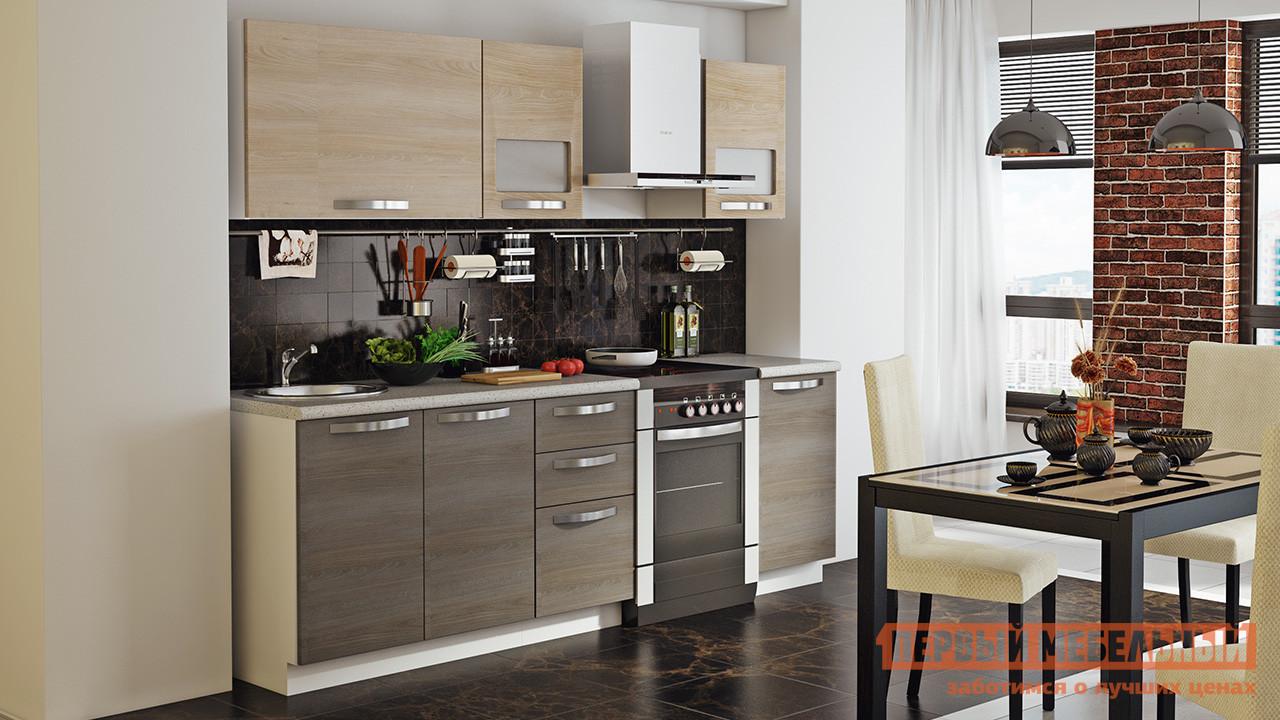 Кухонный гарнитур ТриЯ Ненси 180 см кухонный гарнитур трия ассорти вишня 2 240 х 210 см