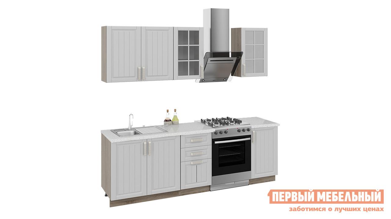 Кухонный гарнитур ТриЯ Прованс 180 см кухонный гарнитур трия ассорти вишня 2 240 х 210 см