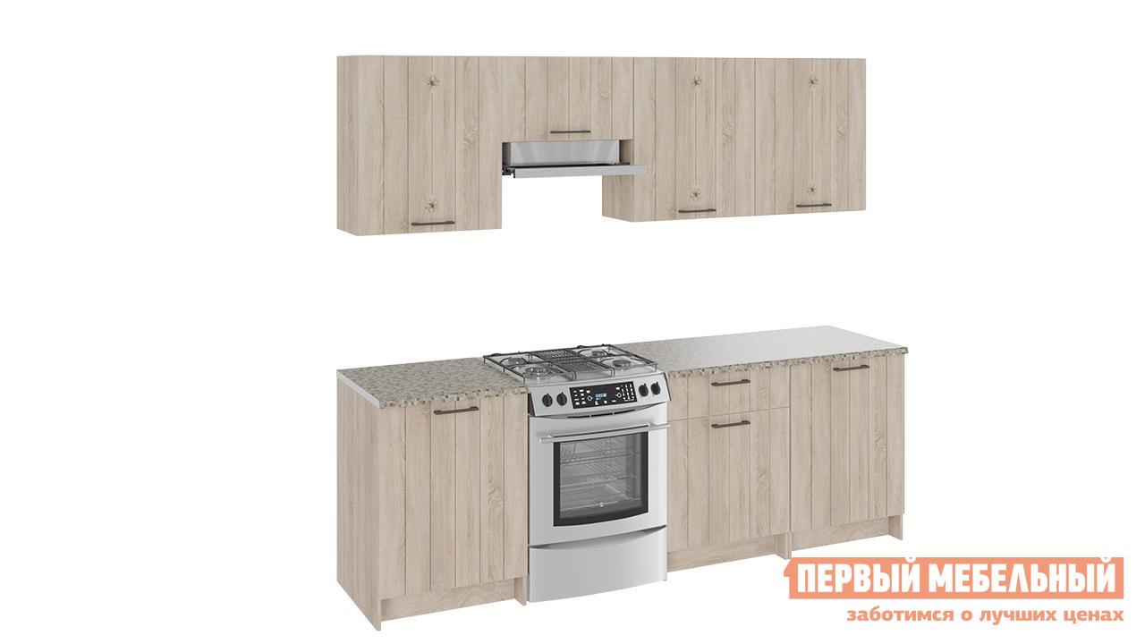 Кухонный гарнитур ТриЯ Эстель 240 см кухонный гарнитур трия оливия 240 см