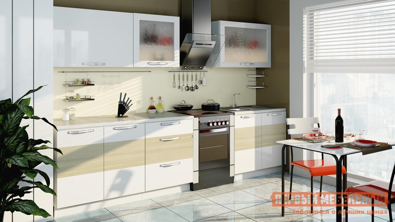 Кухонный гарнитур ТриЯ Оливия 300 см кухонный гарнитур трия ассорти вишня 2 240 х 210 см