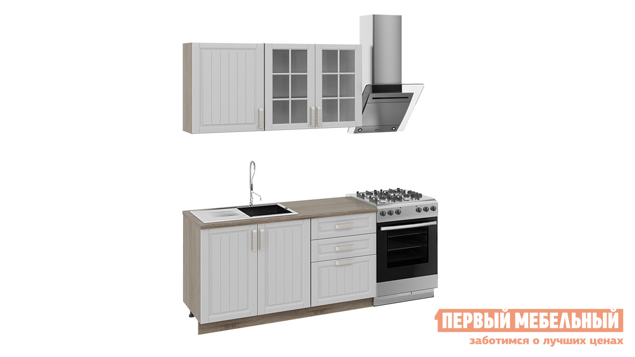Кухонный гарнитур ТриЯ Прованс 150 см кухонный гарнитур трия ассорти вишня 2 240 х 210 см