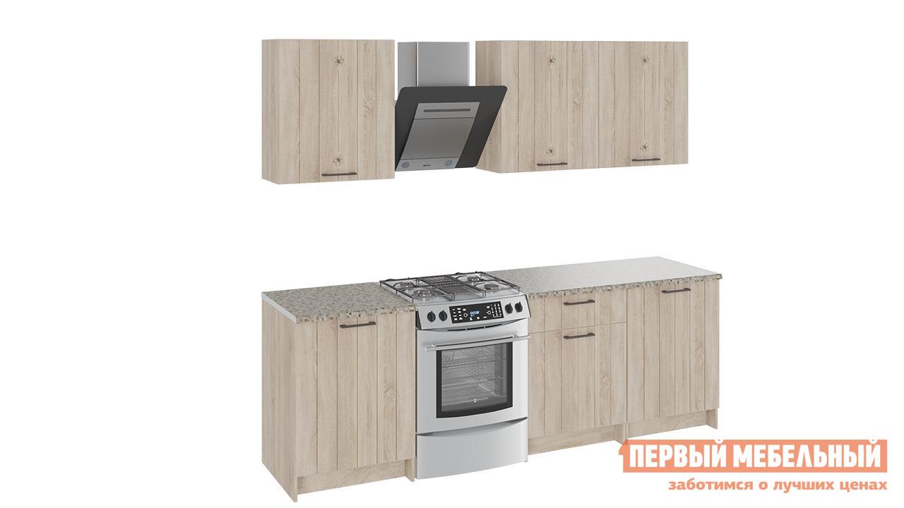 Кухонный гарнитур ТриЯ Эстель 180 см кухонный гарнитур трия фэнтези 6 255 х 150 см