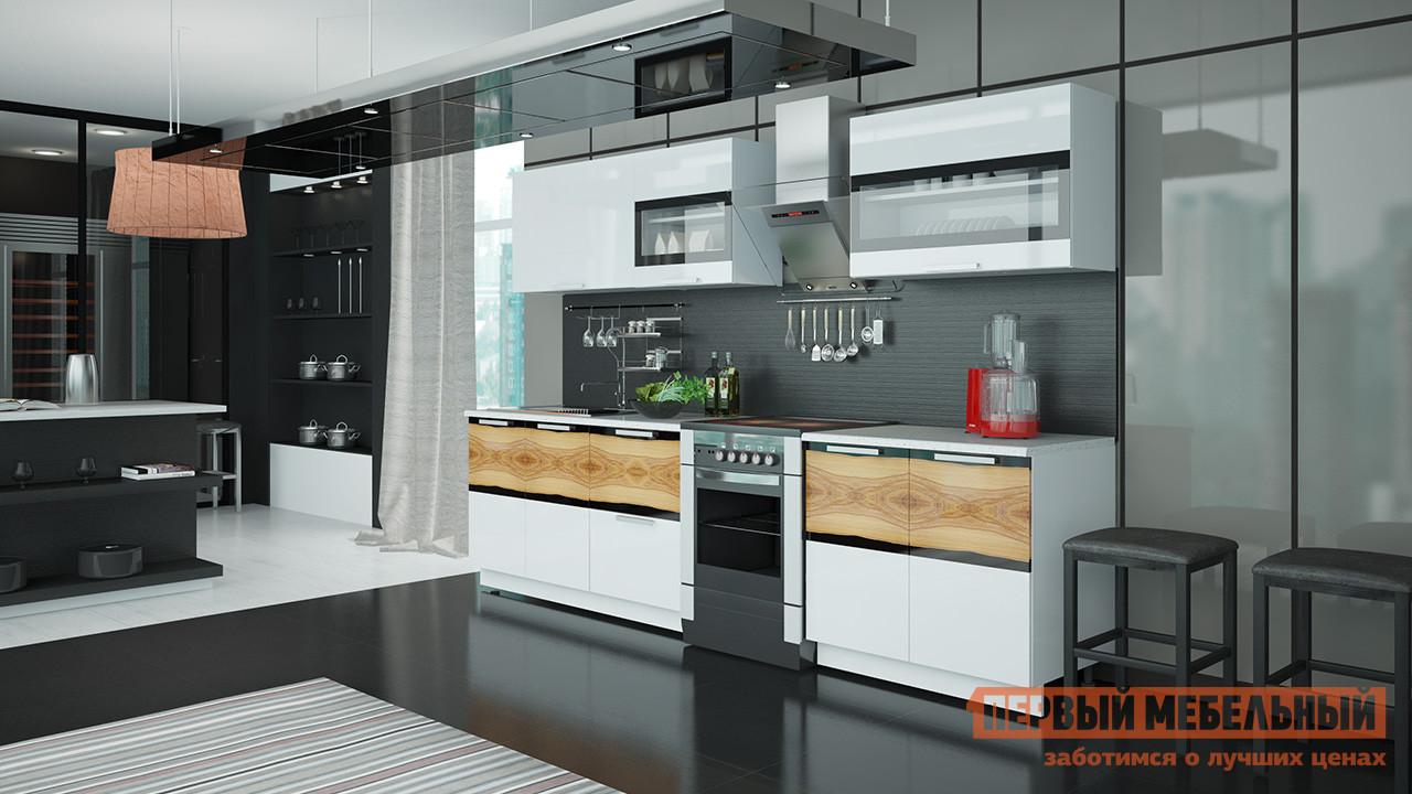Кухонный гарнитур ТриЯ Фэнтези 300 см спальный гарнитур трия лючия к2