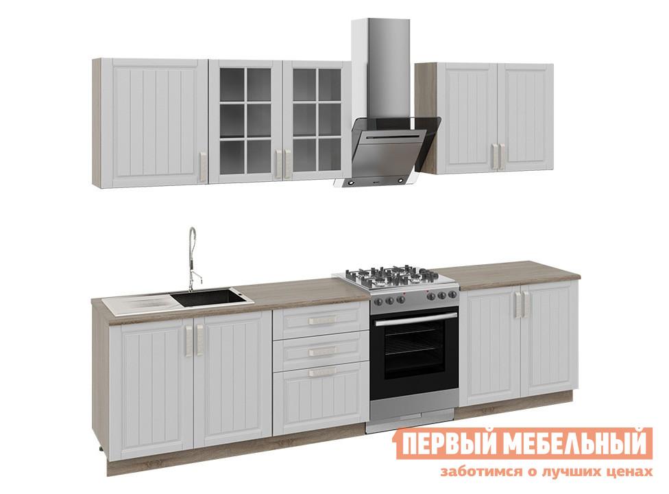 Кухонный гарнитур ТриЯ Прованс 300 см кухонный гарнитур трия ассорти вишня 2 240 х 210 см