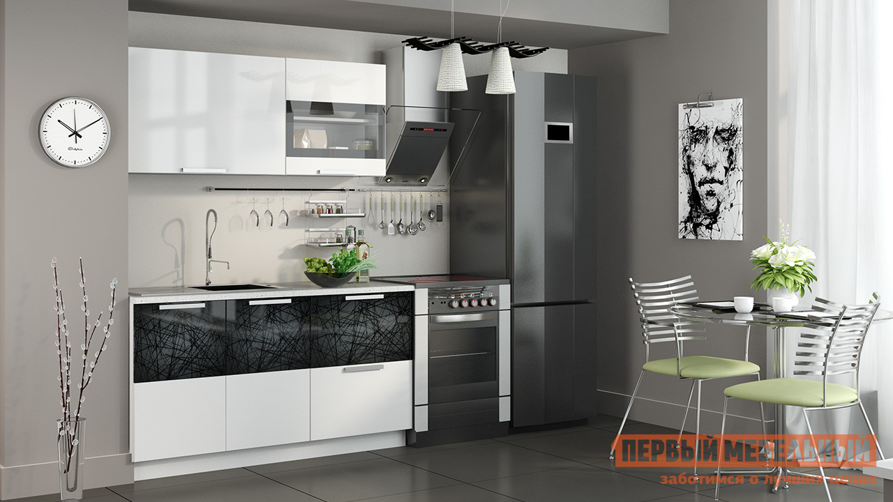 Кухонный гарнитур ТриЯ Фэнтези 150 см кухонный гарнитур трия ассорти вишня 2 240 х 210 см