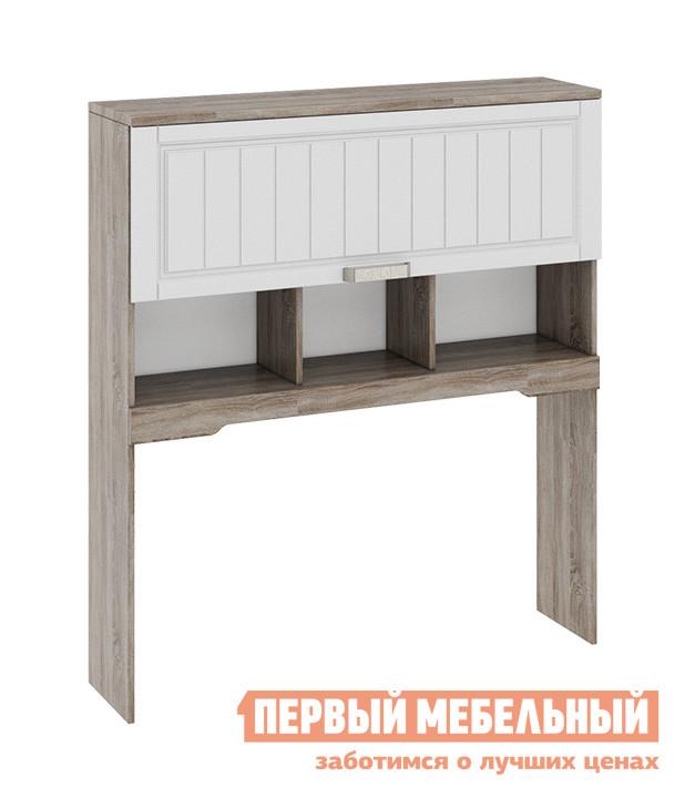 Надстройка ТриЯ ТД-223.15.11 Дуб Сонома трюфель / Крем