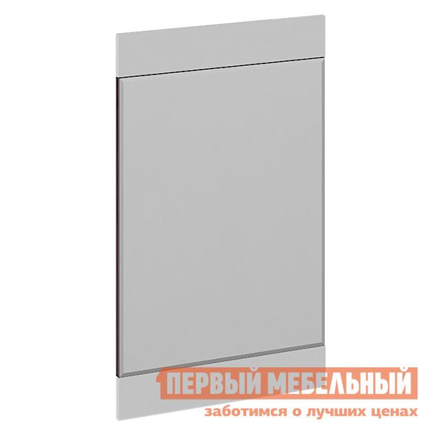 Настенное зеркало  Фьюжн Зеркало навесное Венге линум / Белый глянец — Фьюжн Зеркало навесное Венге линум / Белый глянец